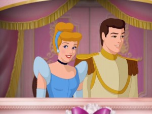 Oh no, Cinderella's man is checking out Belle in the next screencap!