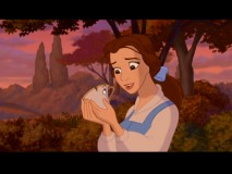 That look in Belle's eyes is genuine compassion for Chip the teacup. Or maybe it's just her wishing Haley Joel Osment still did his voice.