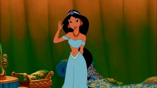 Jasmine waves goodbye at the end of her story. And the end of the Enchanted Tales line?