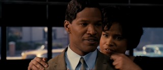 "Effie (Jennifer Hudson) serenades her boyfriend and manager, Curtis Taylor, Jr. (Jamie Foxx) in ""I Love You I Do."""
