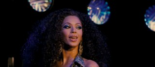 "Beyonce Knowles is a dead-ringer for Diana Ross in Dreamgirls' ""One Night Only"" disco sequence."
