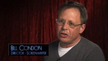 "Director and screenwriter Bill Condon appears on many of the bonus features, here talking about the editing process in ""Dream Logic."""