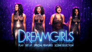 The Dreamgirls DVD main menu appears on Discs 1 and 2, providing plenty of opportunity to watch this fun little montage in full.
