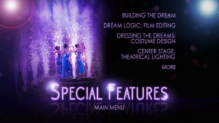 The primary submenu on Disc 2 presents the Special Features, spread across two pages.