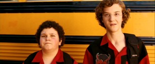 Squint and it's easy to see younger versions of the Superbad leads Seth and Evan in Ryan and Wade, who have the grave misfortune of wearing the same shirt on the first day of high school.