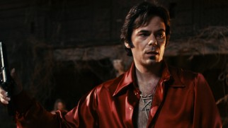 "Billy Burke trades his signature ""Twilight"" mustache for a soul patch, playing creepy cult leader Jonah King."