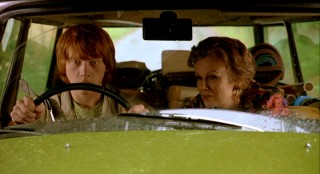 "The movie is called ""Driving Lessons"", which Ben gets in an unconventional way."