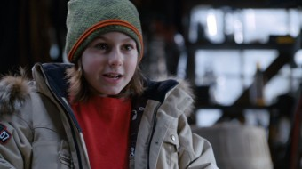 "Eleven-year-old child actor Dominic Scott Kay plays Adam Bilson, the lead character in Disney's recently-premiered comedy-adventure ""Snow Buddies."""