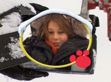 "Dominic Scott Kay discusses making ""Snow Buddies"" in the DVD's making-of ""Dogumentary."""