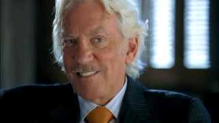 "Maniacal grins from Donald Sutherland are reason enough to watch ""Dirty Sexy Money."""