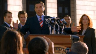 Patrick Darling (William Baldwin) ups the ante in his political career, despite dicey risks in his personal life.