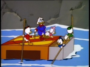 Using a matchbook for a raft? Honey, I Shrunk the Ducks!