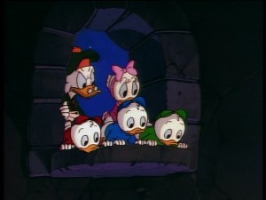 Funny things are afoot in the old Castle McDuck.