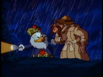 "Flintheart Glomgold and El Capitan, two villains with a common foe, team up in Part 2 of ""Treasure of the Golden Suns."""
