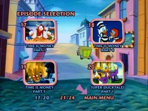 Disc 3's Episode Selection menus demonstrate how the TV movies are presented as episodes.
