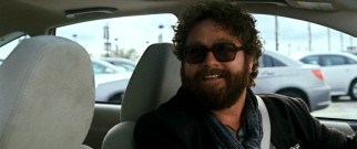 Offering a ride in his rented Subaru, scarved, permed Hollywood hopeful Ethan Tremblay (Zach Galifianakis) is both the answer to and cause of Peter's dilemma.