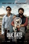 Due Date (2010) movie poster