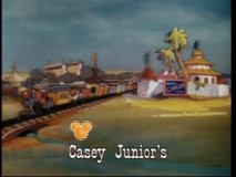 "The ""Casey Junior"" sing-along shows off terrible picture quality but the bouncing Mickey head brings back fond memories."