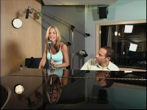 "Jim Brickman and Kassie Depaiva collaborate in their ""Baby Mine"" music video."