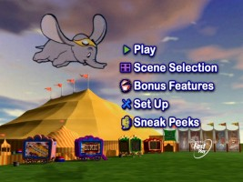 The animated 4x3 main menu is simply carried over from the previous release with a few small modifications.
