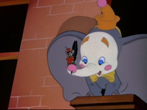 Dumbo's looking a little pale in the face.
