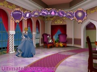 Travel through the enchanted Princess castle and be the first to be crowned Princess of the Royal Ball.