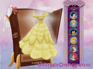 Right: Can you guess which princess wears this dress?