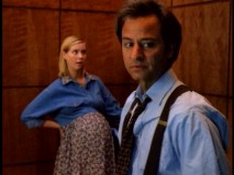 Stuck elevator: check. Very pregnant woman (Cynthia Nixon): check. Chuck Fishman finds himself in a tense situation familiar to television episodes.