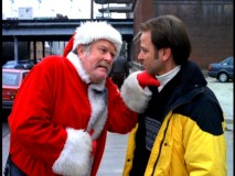 Chuck's fellow jailbird (M. Emmet Walsh) claims he's Santa Claus and he somewhat looks the part in Season 1's Christmas episode.