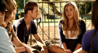 While briefly dabbling in friendship, judgmental Christian youth group leader Marianne (Amanda Bynes, with Cam Gigandet) mostly makes life difficult for Olive.
