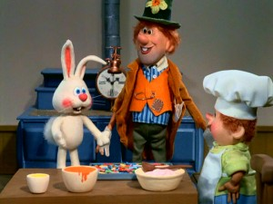 Sunny the Easter Bunny, Hallelujah Jones, and Kidville's rotund baker work together to discover the jelly bean.