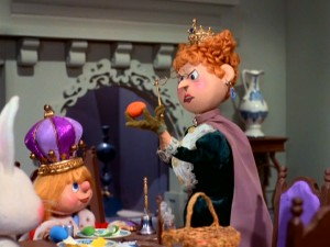 King Bruce the Frail, the monarch and only child of Town, finds himself answering to his dour aunt, Lilly Long Tooth, who does not approve of Easter eggs.