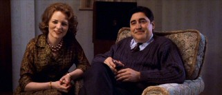 Jenny's mother Marjorie (Cara Seymour) and father Jack (Alfred Molina) are not averse to the charms of their daughter's suave suitor.