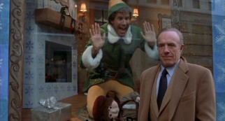 Busy book publisher and Naughty List occupant Walter Hobbs (James Caan) acts like he doesn't know the man-child inside the shop window claiming to be his son.
