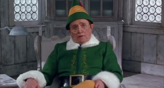 Buddy's adoptive father Papa Elf (Bob Newhart) acts as the film's storyteller.