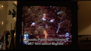 Not every item in the Fact Track will be news to you (like this Bigfoot spoof identification), but it's still a fun way to rewatch the movie.