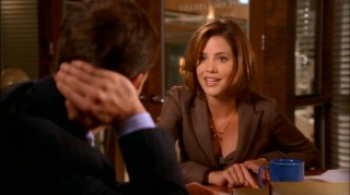 Idealistic first-year lawyer Maggie Dekker (Julie Gonzalo) is eager to assist Eli with a smile on what she deems noble cases.