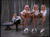If you got the most recent Golden Girls set, you'll remember these  singing triplets.