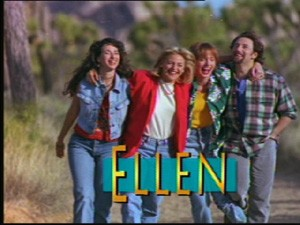 """Ellen""'s title screen."