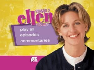 Ellen: Season Two Main Menu