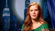 "Though not quite as bubbly as Giselle, Amy Adams still oozes cheer in her interviews from the ""Fantasy Comes to Life"" shorts."