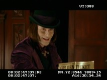 Willy Wonka (Crispin Glover) returns in this alternate ending.