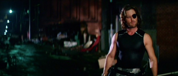 With an eyepatch, a black tank top, and plenty of attitude, Snake Plissken (Kurt Russell) becomes one of cinema's most iconic badass antiheroes.