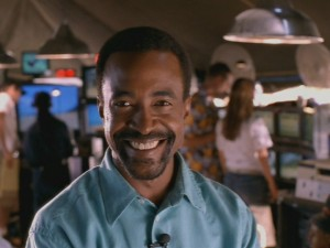 Tim Meadows plays Miles McDermott, a slick personality, who keeps turning up for the Stevens' misfortunes.