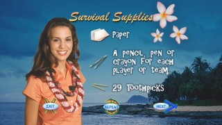 Christy Carlson Romano narrates the Even Stevens Survival Challenge Game. Here, she tells you what you'll need to play.