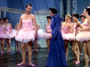 Eurythmics class poses some tutu challenges for Red Skelton!