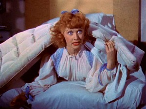 "Lucille Ball supplies the kind of comedic brilliance (in Technicolor!) that would make her one of the biggest sitcom stars of the '50s (or any time) on ""I Love Lucy."""