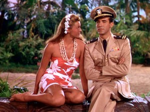 "A very brown Esther Williams has her eyes set on co-star Ricardo Montalban in ""On an Island With You."""