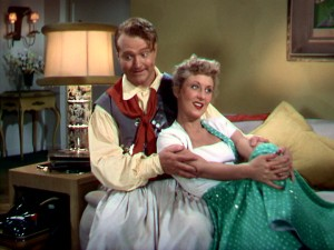 Red Skelton pretends to be South American polo captain Jose O'Rourke to woo boy-crazy Betty (Betty Garrett).