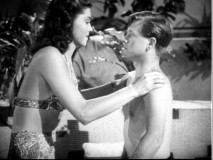 Who could resist kissing a bare-chested Mickey Rooney? Not any young woman who wanted an MGM film contract, as Esther Williams and other aspiring actresses learned in their Andy Hardy screen tests.